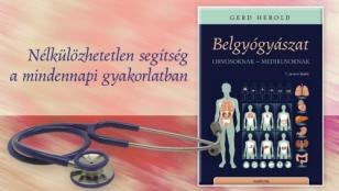 Előrendelési akció a Herold: Belgyógyászat könyvre április 1. és 26. között!